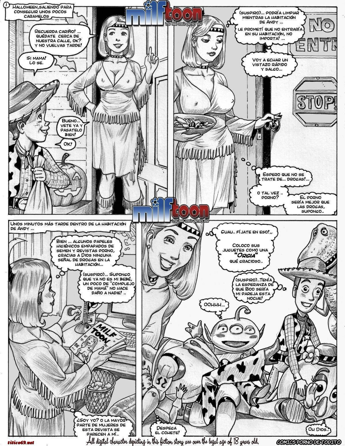 Toy Story Comic Porn