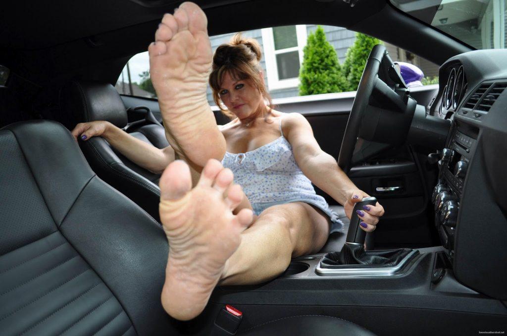 maduras con pies sexys