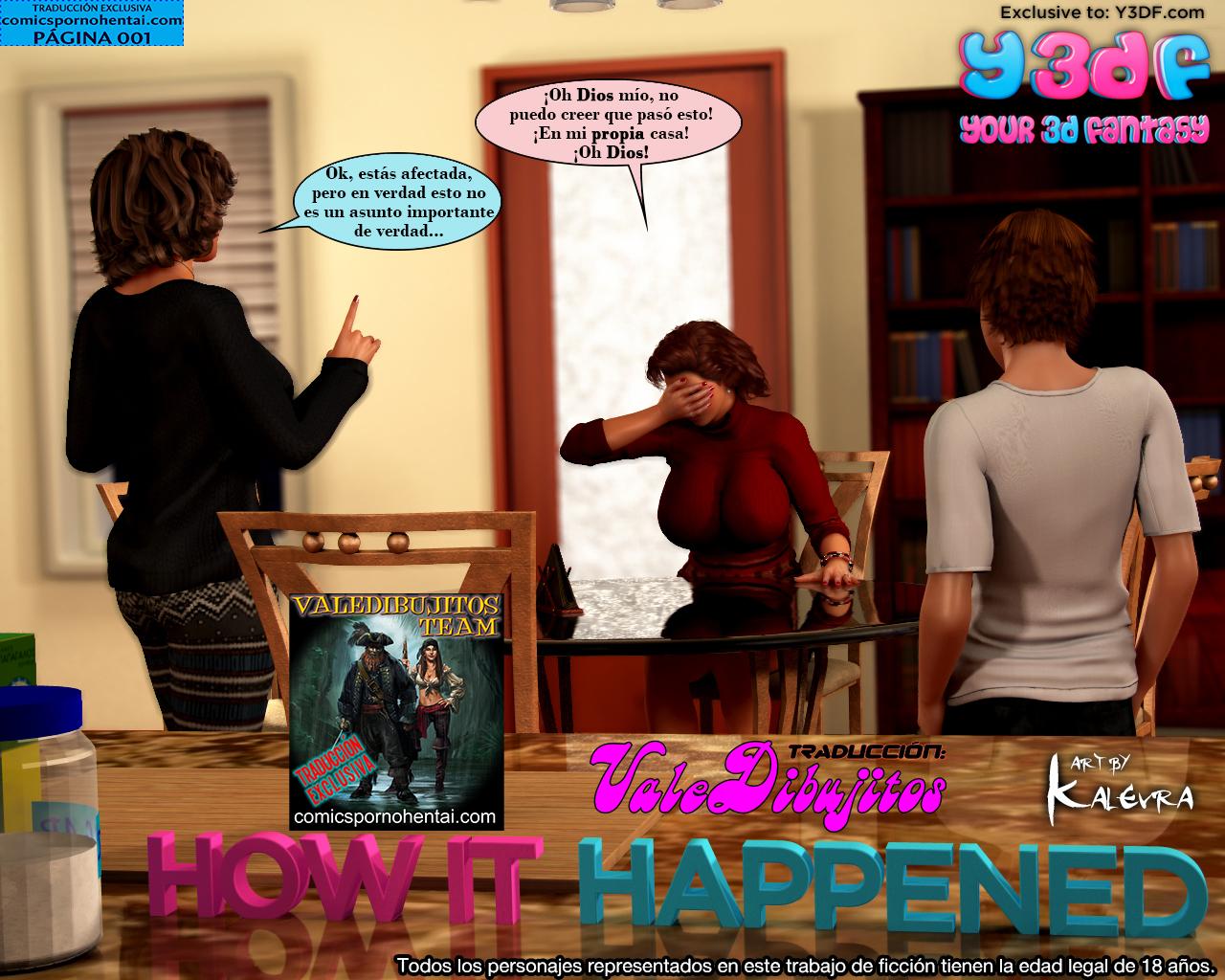 Historieta Porno How It Happened (Y3DF)