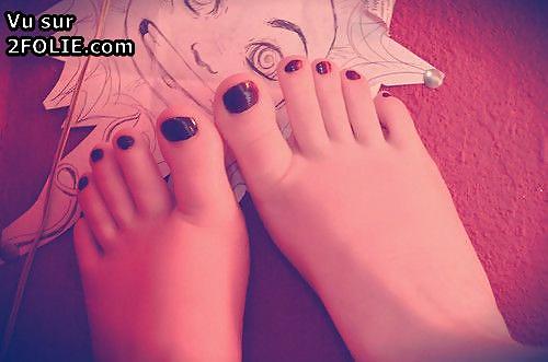 pied de mujer