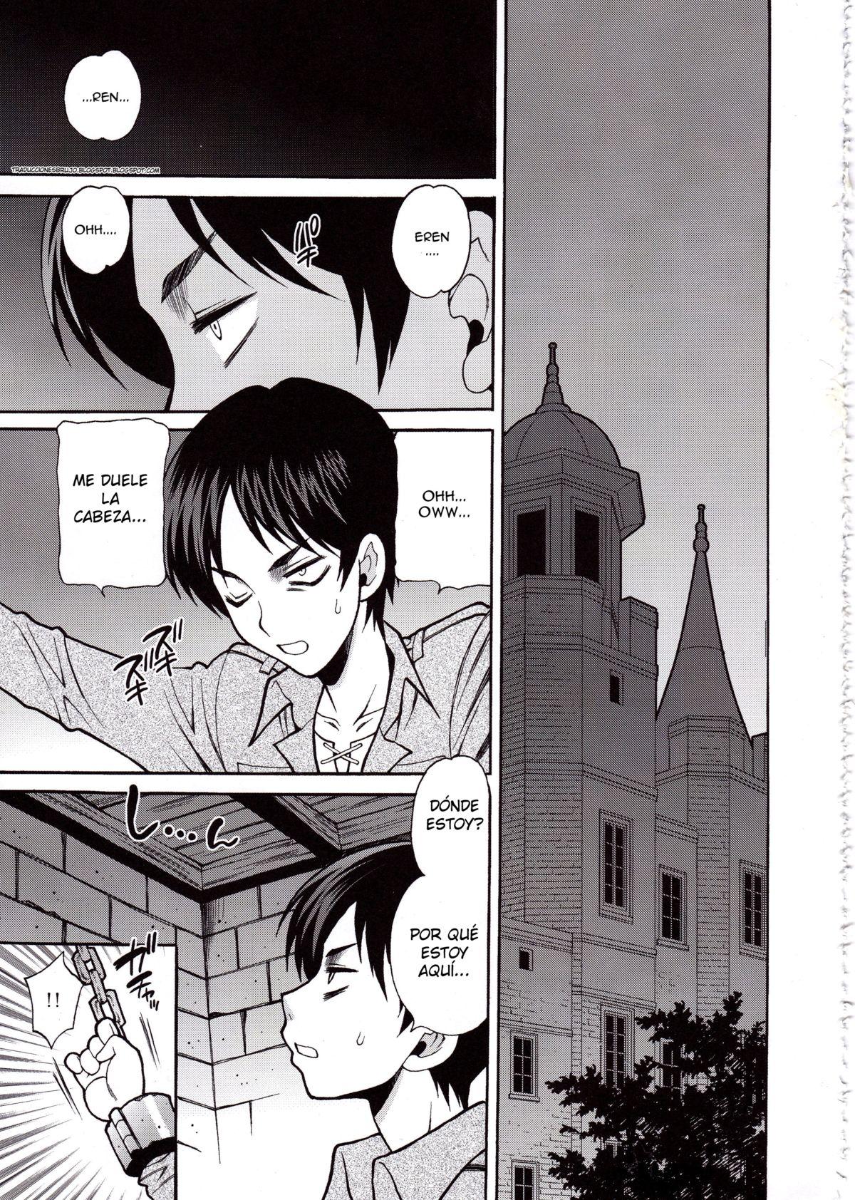 Ataque a la Investigadora - Shingeki no kyojin