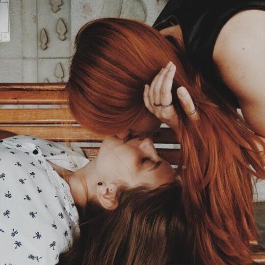 besos lesvianas